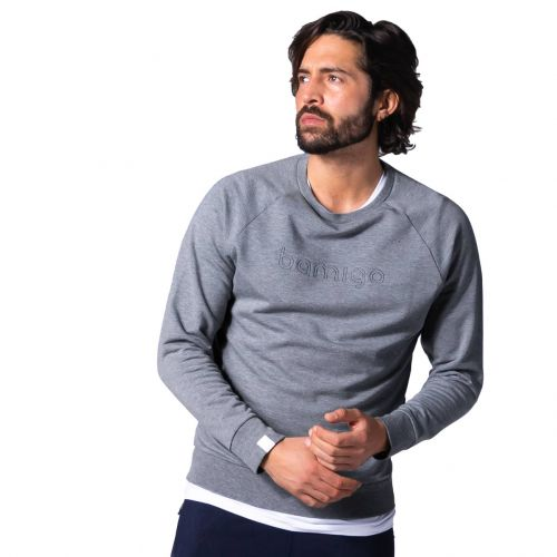 Bamigo Philip Sweater Grey Melange