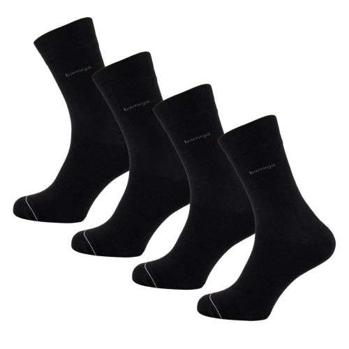 Bamigo James Socken Schwarz (4-er Pack)
