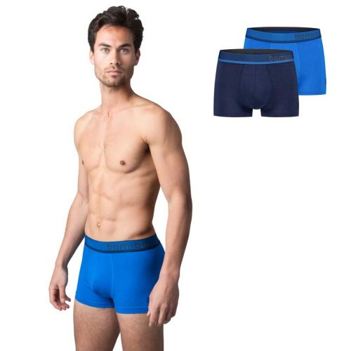 Bamigo Mason Slim Fit Trunks Blue (2-pack)