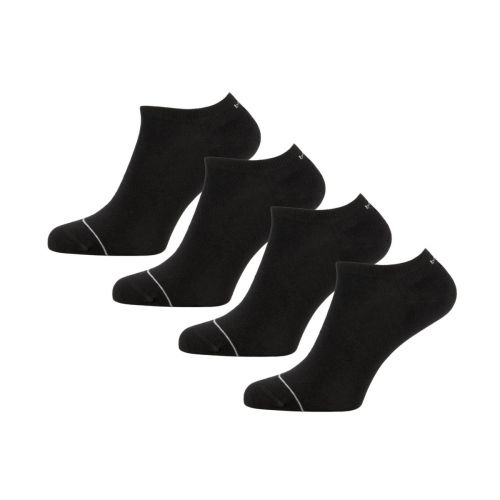 Bamigo Thomas Trainer Socks Black (4-pack)