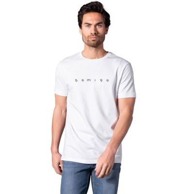 Bamigo Connor Casual T-shirt Wit