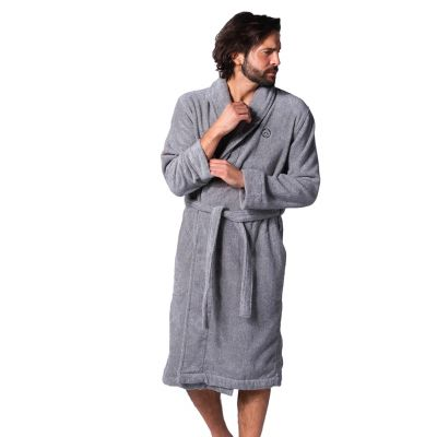 Bamigo Duke Bathrobe Grey Melange
