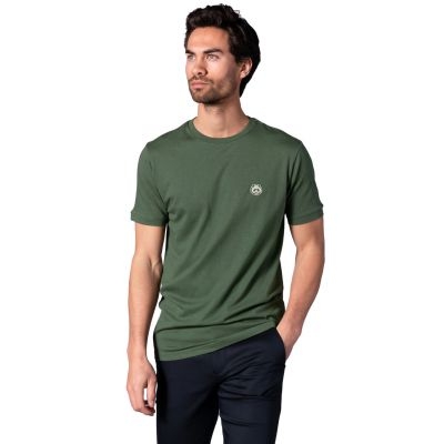 Bamigo Connor Casual T-shirt Groen