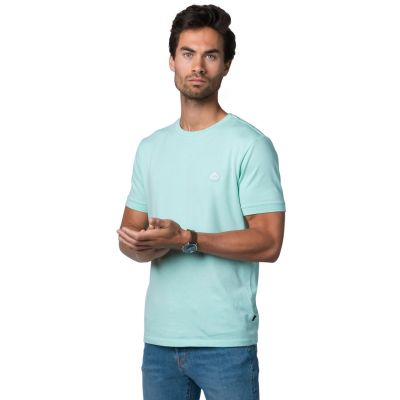 Bamigo Connor Casual T-shirt Lichtblauw