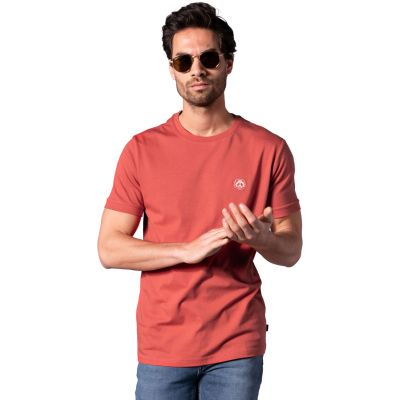 Bamigo Connor Casual T-shirt Rood