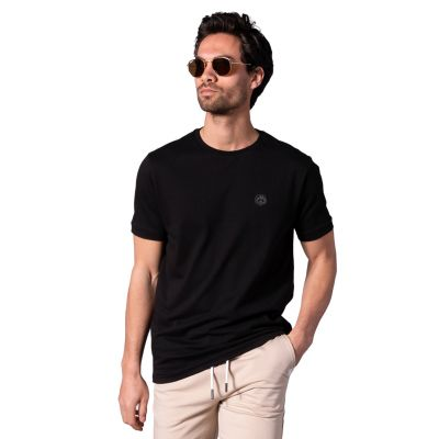 Bamigo Connor Casual T-shirt Zwart