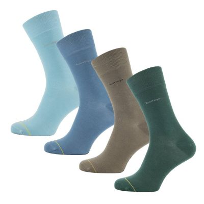 Bamigo James Socks Blue/Green/Khaki (4 pairs)