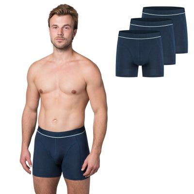 Bamigo Paul Slim Fit Boxershorts Klassiek Blauw (3-pack)