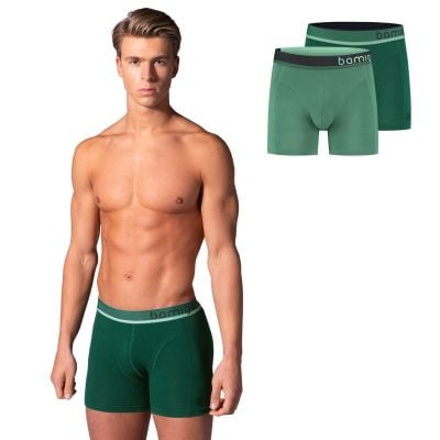 Bamigo Paul Slim Fit Boxers Green (2-pack)