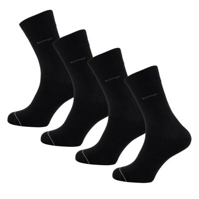 Bamigo James Socks Black (4-pack)