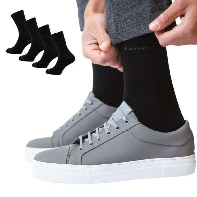 Bamigo James Calcetines Negro (pack de 4)