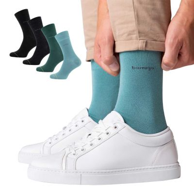 Bamigo James Socks Combi Pack Dark Green-Green-Grey-Black (4-pack)