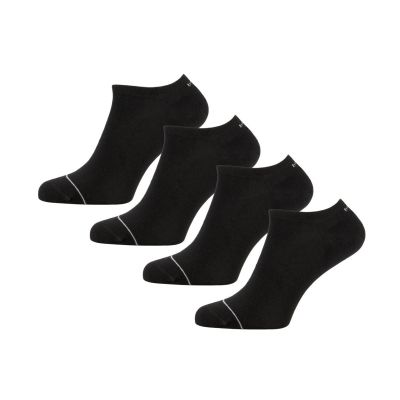 Bamigo Thomas Trainer Socks Black (4 pairs)