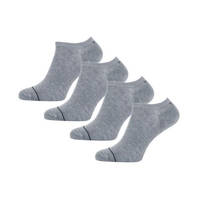 Bamigo Thomas Trainer Socks Grey (4 pairs)