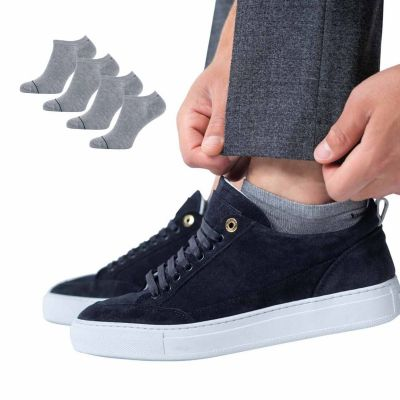 Bamigo Thomas Trainer Socks Grey (4-pack)