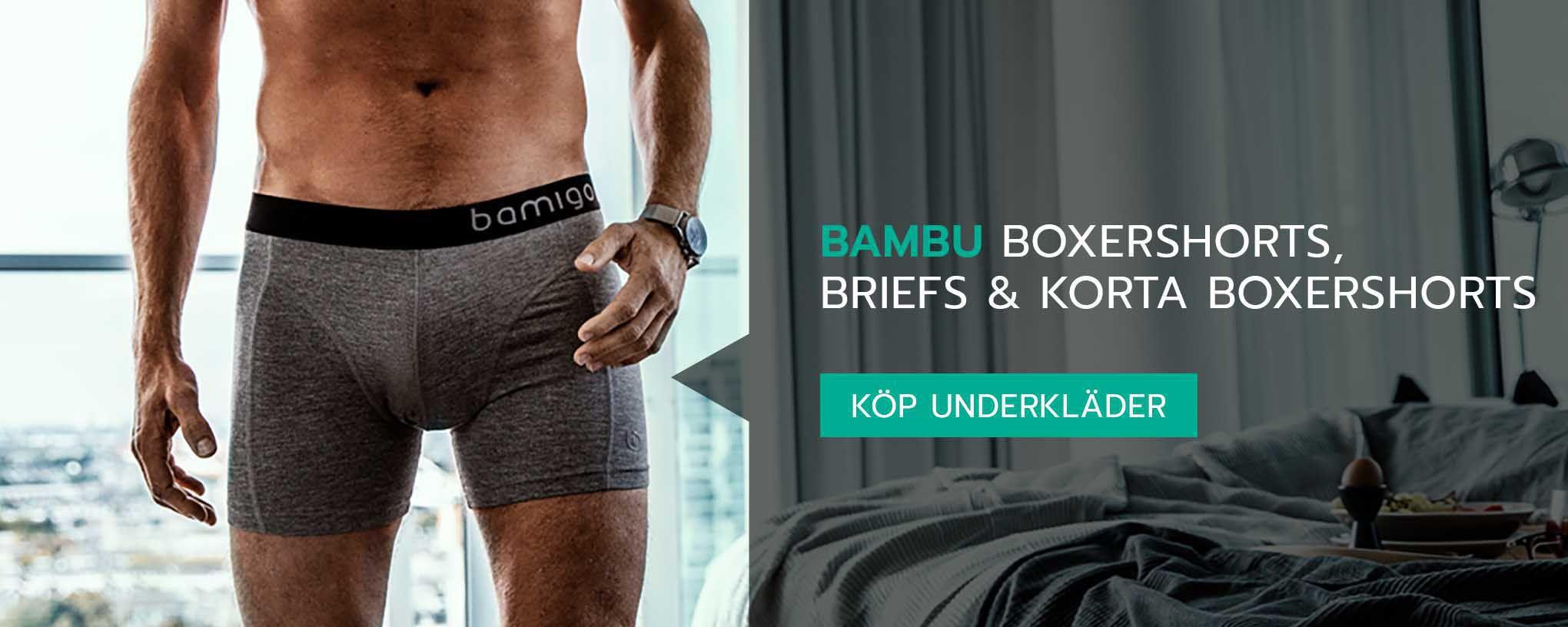 Bambu underkläder