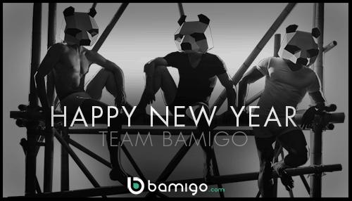 Happy New Year - team Bamigo