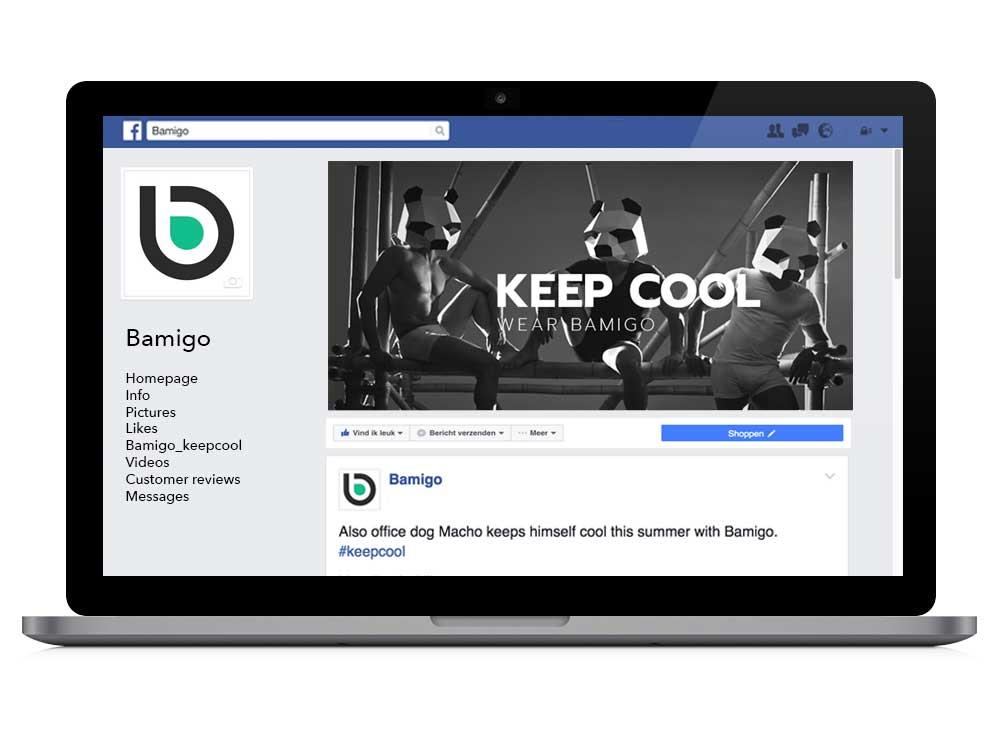 Bamigo et Facebook