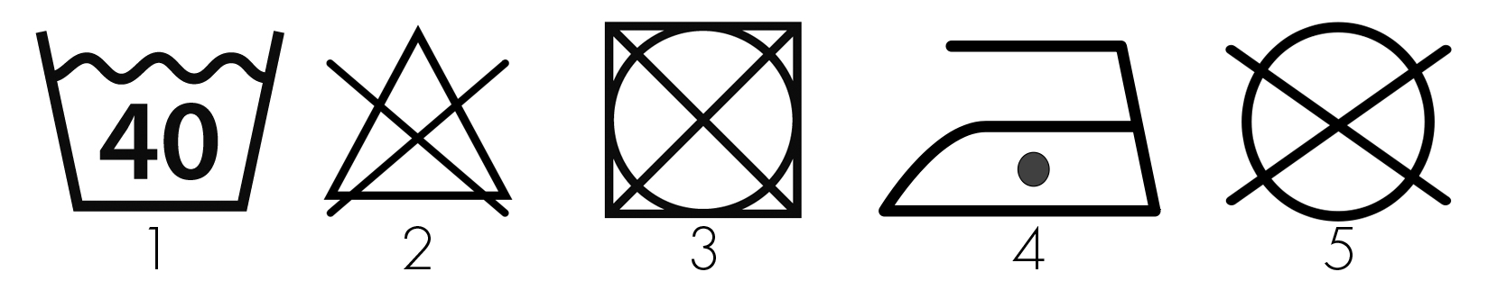 Symbols inside Bamigo T-Shirts