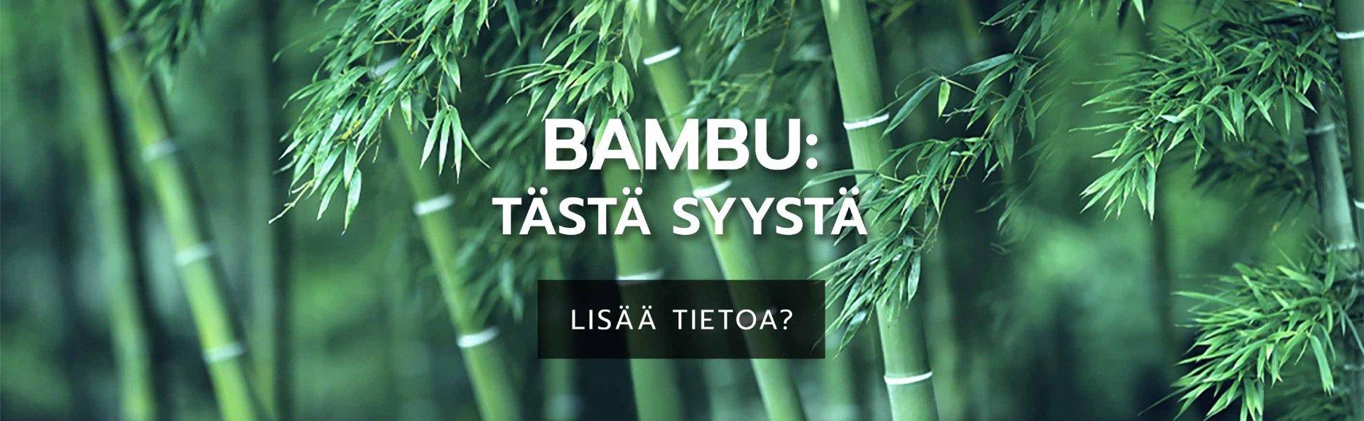 Bambu: tästä syystä