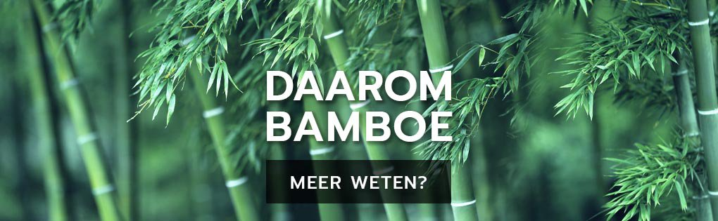 Daarom bamboe