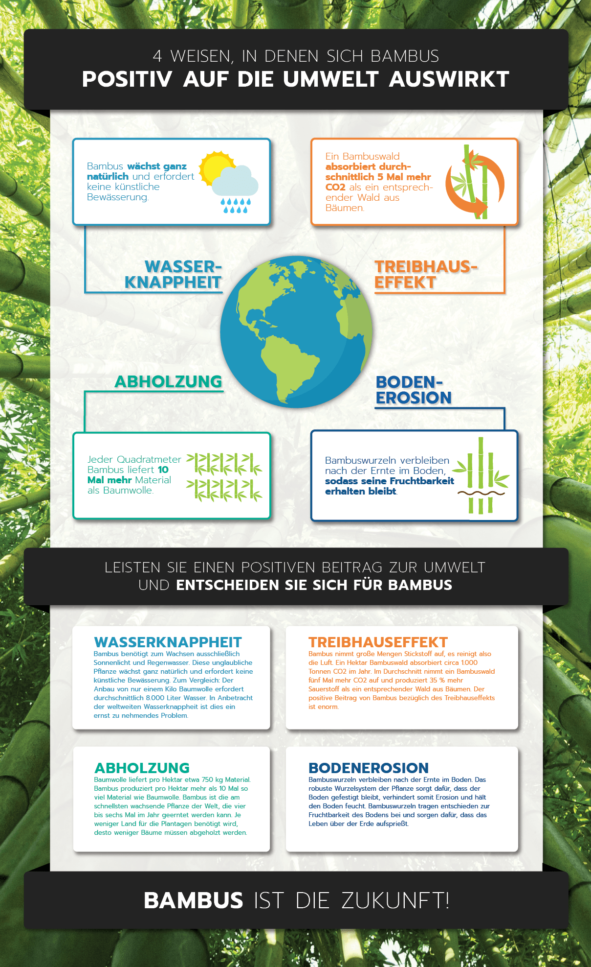 Bambus ist die Zukunft